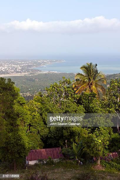 Jacmel and the Caribbean Sea