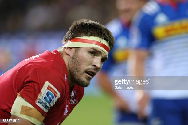 Jaco Kriel of the Lions during the Super Rugby match between DHL Stormers and Emirates Lions at DHL Newlands on April 15 2017 in Cape Town South...