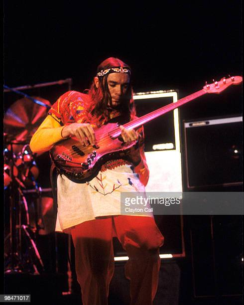 Jaco Pastorius performing with Weather Report at the Berkeley Community Theater on November 26, 1978.