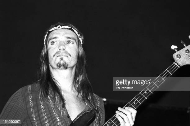 Jaco Pastorius performs with Weather Report at the Greek Theatre in May 1979 in Berkeley, California.