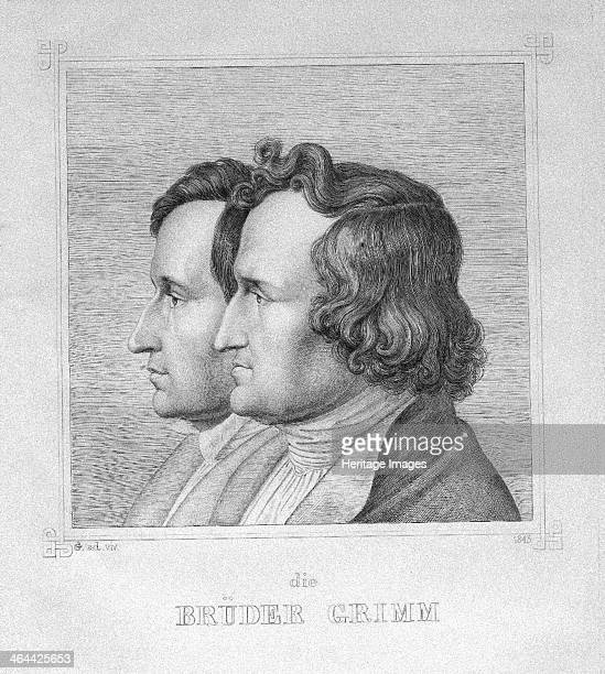 Jacob and Wilhelm Grimm 1843 From a private collection