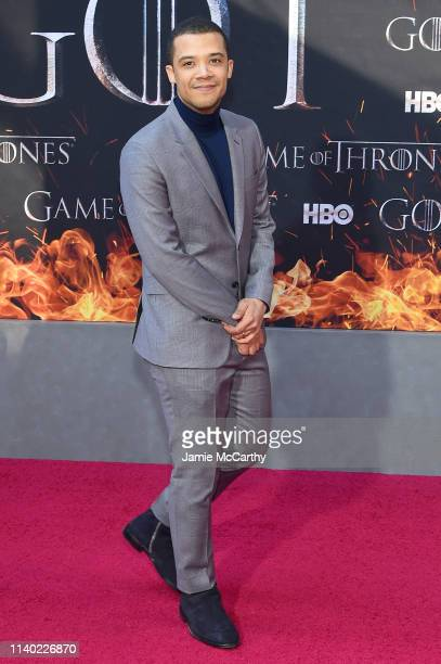 Jacob Anderson attends the Game Of Thrones Season 8 Premiere on April 03 2019 in New York City