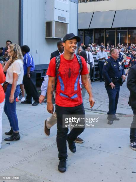 Jacob Anderson is seen on July 21 2017 in San Diego California