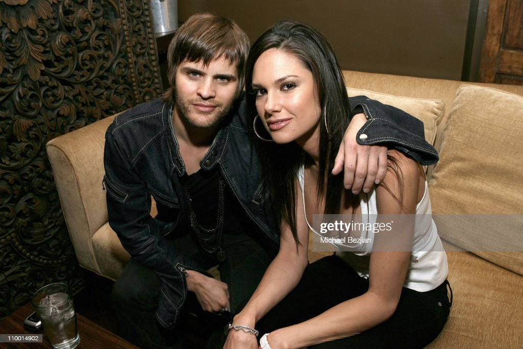 Jacob Anthonisen and Cindy White during Grand Opening of Empress Restaurant in Los Angeles at Empress Restaurant in West Hollywood, California, United States.