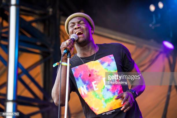 Jacob Banks performs during Austin City Limits Festival at Zilker Park on October 8 2017 in Austin Texas