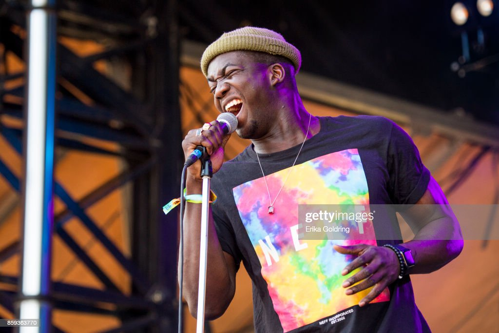 Jacob Banks performs during Austin City Limits Festival at Zilker Park on October 8, 2017 in Austin, Texas.