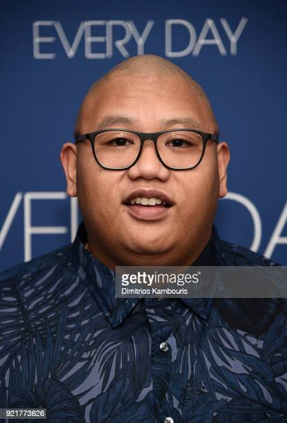 Jacob Batalon attends the 'Every Day' New York Screening at Metrograph on February 20 2018 in New York City