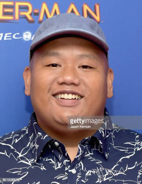 Jacob Batalon attends the Spiderman Homecoming New York First Responders' Screening at Henry R Luce Auditorium at Brookfield Place on June 26 2017 in...