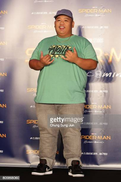 Jacob Batalon attends the 'SpiderMan Homecoming' press conference at Conrad Seoul Hotel on July 3 2017 in Seoul South Korea