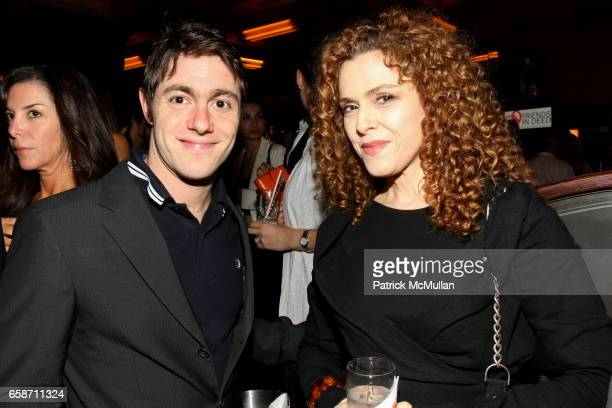 Jacob Bernstein and Bernadette Peters attend FRIENDS IN DEED Fall Benefit Honoring Donna Karan and Andy Cohen at Balthazar on June 16 2009 in New...