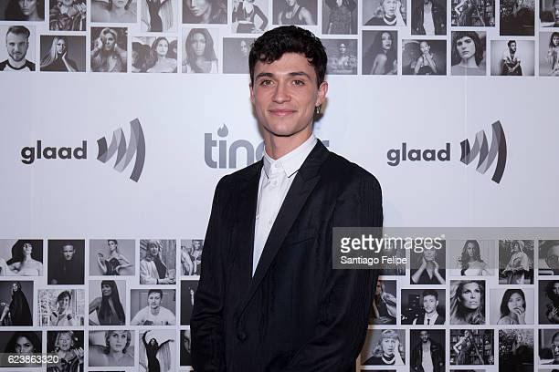 Jacob Bixenman attends Tinder x GLAAD Celebrate Inclusion Acceptance Equality at Skylight Clarkson Sq on November 16 2016 in New York City