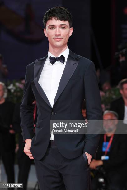Jacob Bixenman walks the red carpet ahead of the Seberg screening during the 76th Venice Film Festival at Sala Grande on August 30 2019 in Venice...