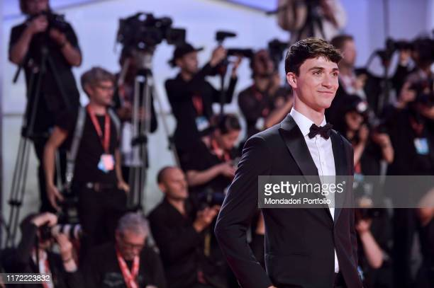 Jacob Bixenman walks the red carpet ahead of the Seberg screening during during the 76th Venice Film Festival at Sala Grande on August 30 2019 in...