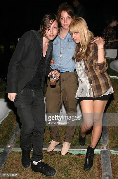 """Jacob Brown, Cory Kennedy and Peaches Geldof attends the Mini Rooftop NYC"""" Hosts V Magazine Celebration at One Space on September 10, 2008 in New..."""