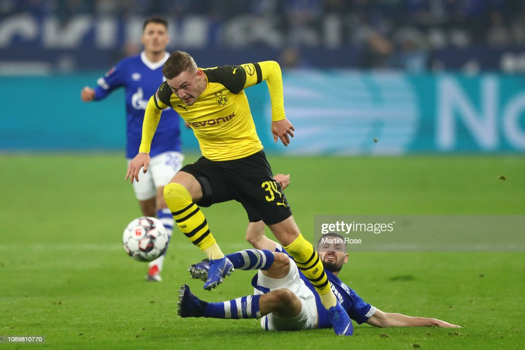 Jacob Bruun Larsen Of Borussia Dortmund Is Challenged By Daniel News Photo Getty Images