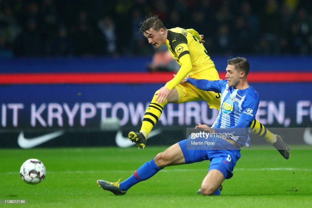 DEU: Hertha BSC v Borussia Dortmund - Bundesliga