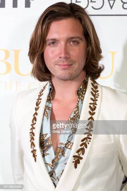 Jacob Busch attends George Jung's Birthday Celebration And Screening Of Blow at TCL Chinese 6 Theatres on August 6 2018 in Hollywood California