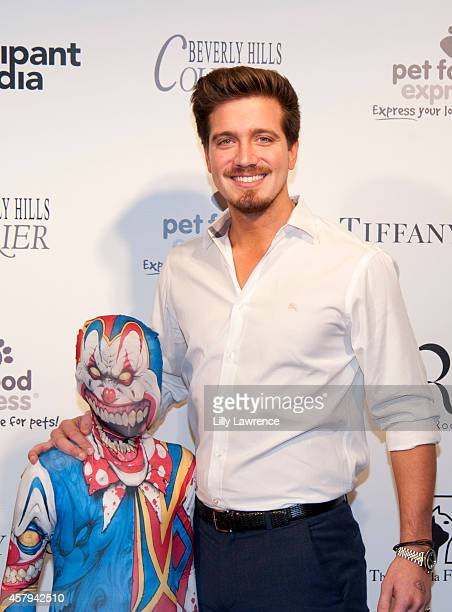 Jacob Busch attends the Amanda Foundation's 2014 Bow Wow Beverly Hills Halloween Rodeo Drive Night Of The Living Dog Event at Via Rodeo at Two Rodeo...