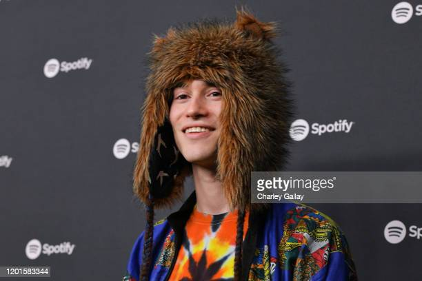 Jacob Collier attends Spotify Hosts Best New Artist Party at The Lot Studios on January 23 2020 in Los Angeles California