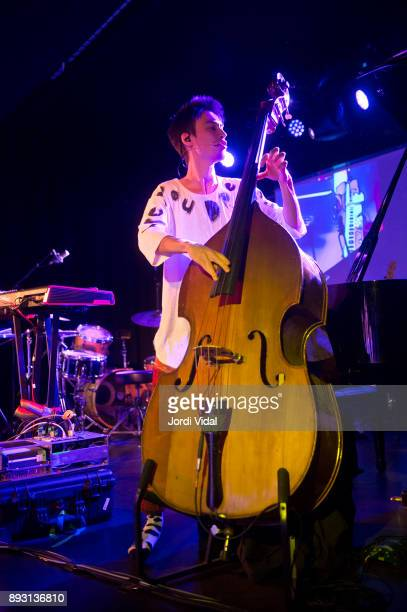 Jacob Collier performs on stage at Sala Apolo on December 14 2017 in Barcelona Spain