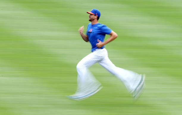 NY: New York Mets Summer Workouts