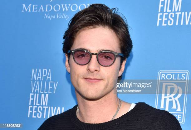 Jacob Elordi attends the Rising Star Showcase during the Napa Valley Film Festival at Materra Cunat Family Vineyards on November 16 2019 in Napa...