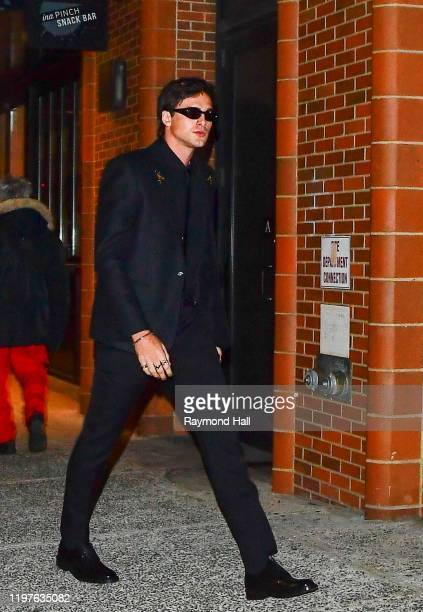 Jacob Elordi is seen in midtown on January 30 2020 in New York City