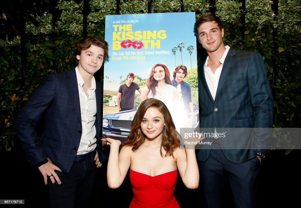 Jacob Elordi, Joey King and Joel Courtney attend a screening