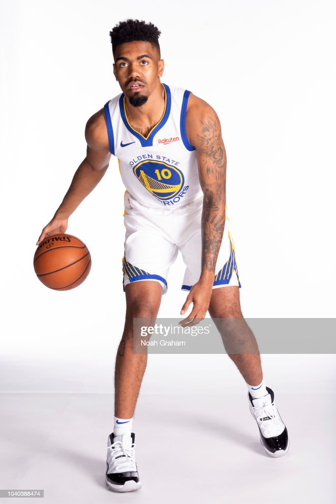 Jacob Evans III of the Golden State Warriors poses for a portrait ... 4fd1b96db