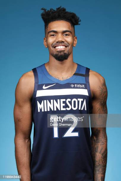 Jacob Evans of the Minnesota Timberwolves poses for a head shot on February 8, 2020 at Target Center in Minneapolis, Minnesota. NOTE TO USER: User...