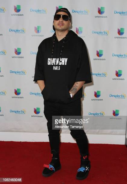 Jacob Forever is seen on the set of 'Despierta America' at Univision Studios on October 18 2018 in Miami Florida