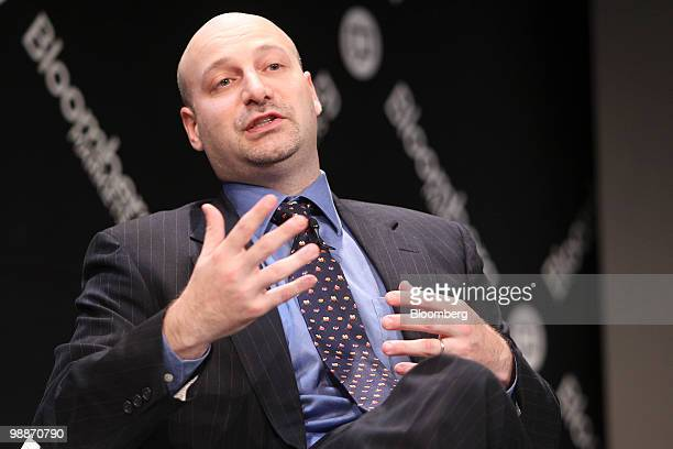 Jacob Gottlieb, chief investment officer of Visium Asset Management, speaks during the Bloomberg Markets Global Hedge Fund and Investor Summit in New...