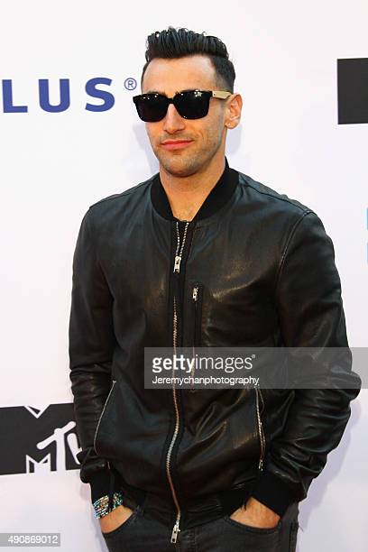 Jacob Hoggard of the band Hedley attends WE Day Toronto at the Air Canada Centre on October 1 2015 in Toronto Canada