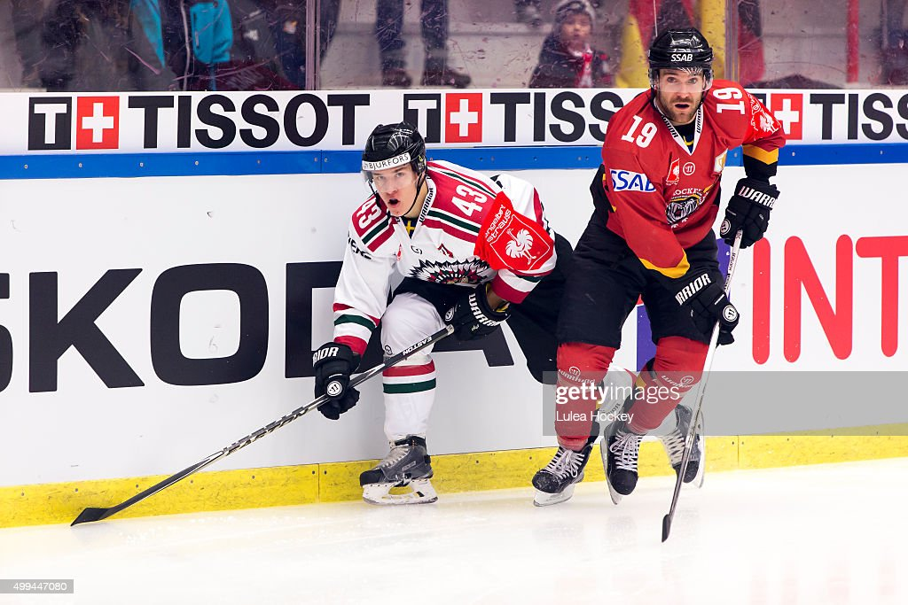 Lulea Hockey v Frolunda Gothenburg  - Champions Hockey League Quarter Final