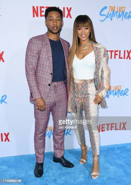 """Jacob Latimore and Serayah McNeill attend the Special Screening Of Netflix's """"The Last Summer"""" at TCL Chinese Theatre on April 29, 2019 in Hollywood,..."""