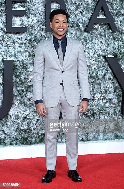 Jacob Latimore attends the European Premiere of 'Collateral Beauty' at Vue Leicester Square on December 15 2016 in London England