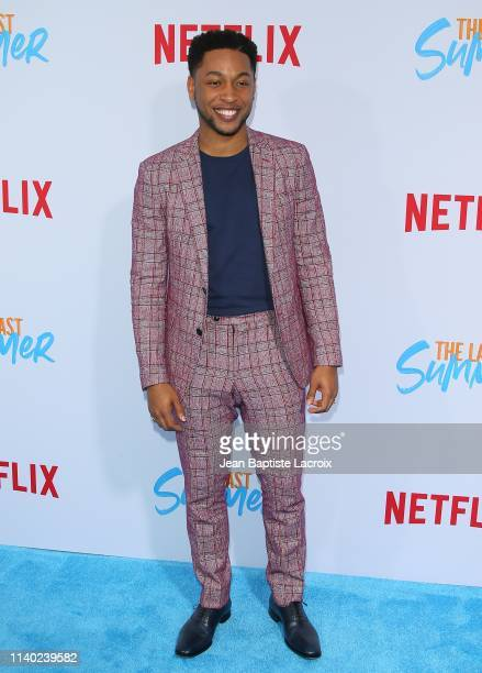 Jacob Latimore attends the special screening of Netflix's The Last Summer at TCL Chinese Theatre on April 29 2019 in Hollywood California