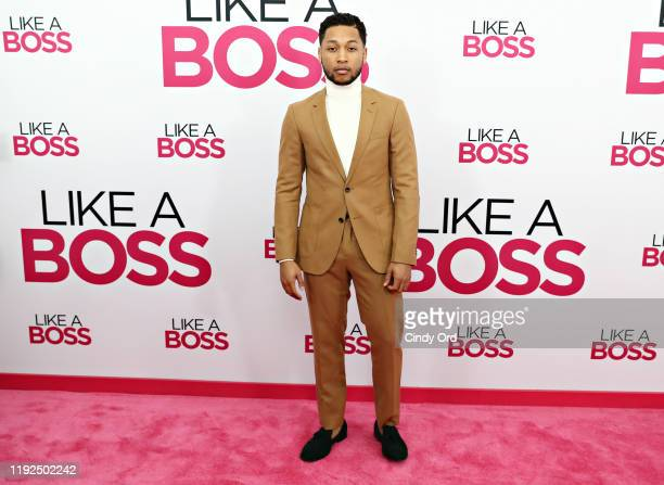Jacob Latimore attends the world premiere of Like A Boss at SVA Theater on January 07 2020 in New York City