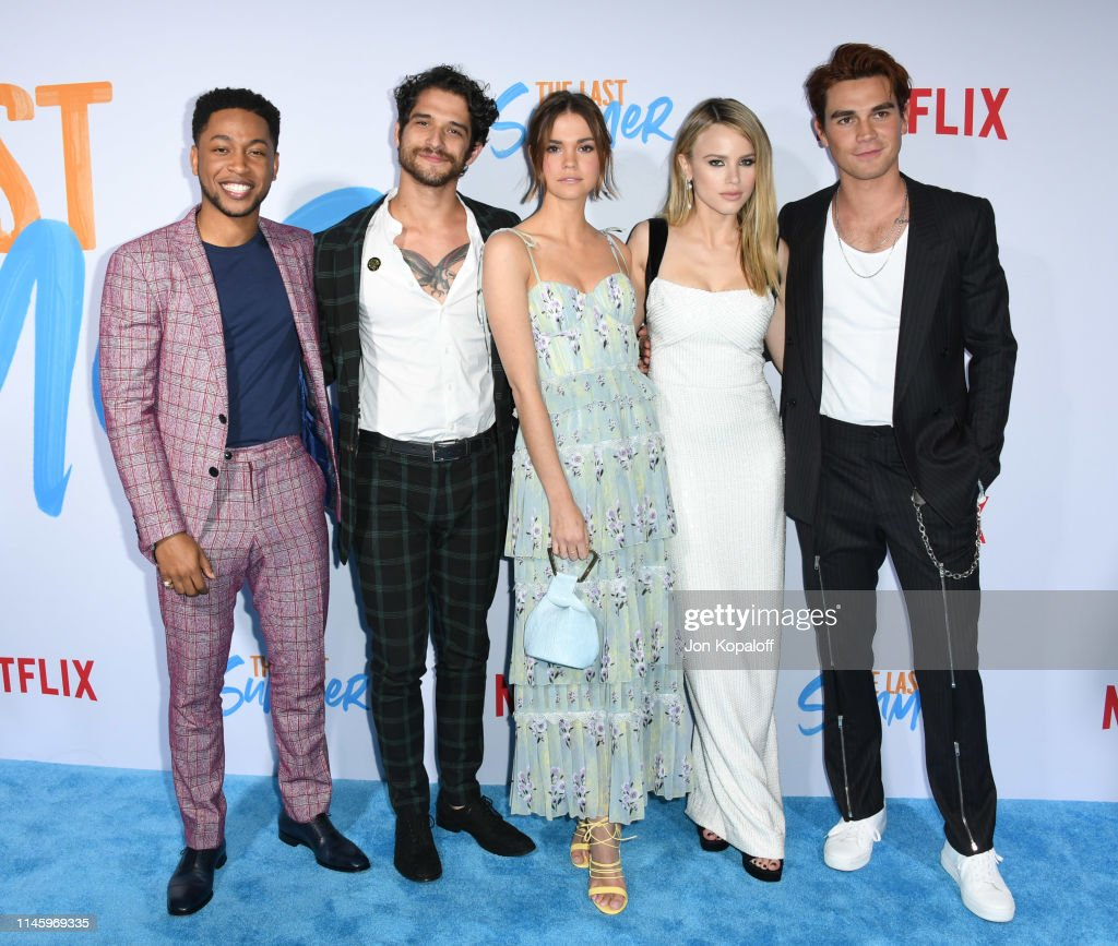 """Special Screening Of Netflix's """"The Last Summer"""" - Arrivals : News Photo"""