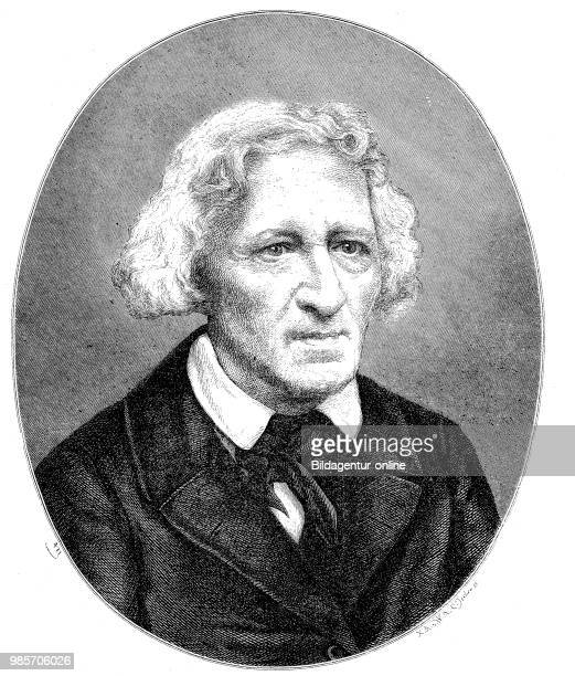 Jacob Ludwig Carl Grimm 4 January 1785 20 September 1863 was a German philologist jurist and mythologist digital improved reproduction of a woodcut...