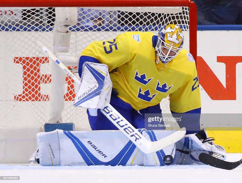 World Cup Of Hockey 2016 - Team Sweden v Team Russia : News Photo