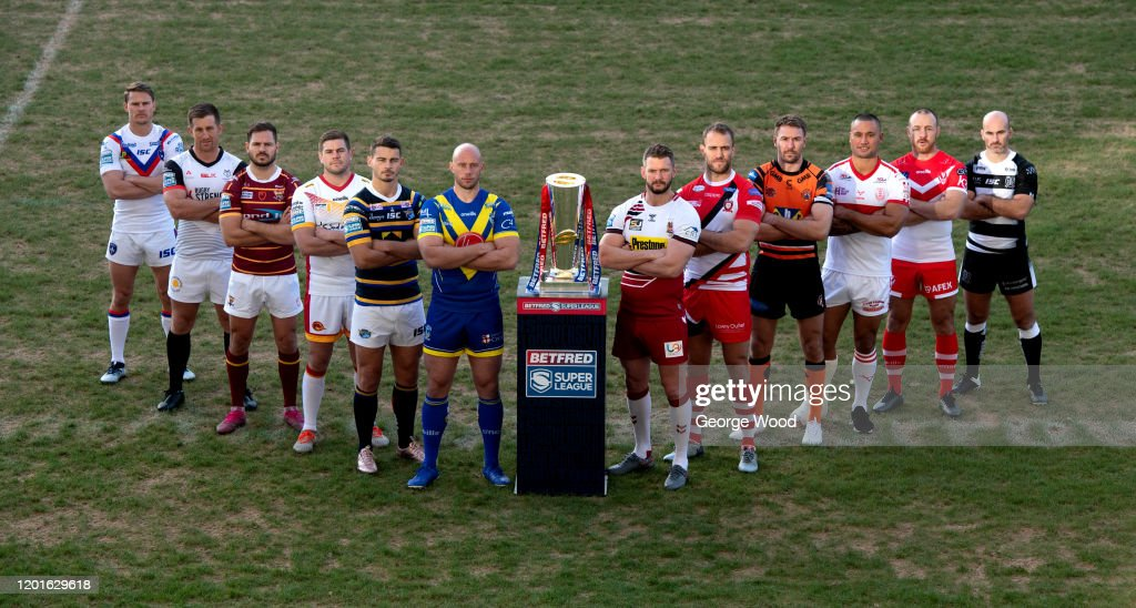 2020 Betfred Super League Launch : News Photo
