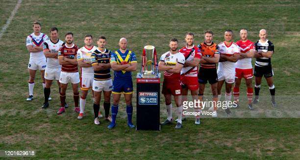 Jacob Miller of Wakefield Trinity, Josh Mccrone of Toronto Wolfpack, Aidan Sezer of Huddersfield Giants, Remi Casty of Catalans Dragons, Stevie Ward...