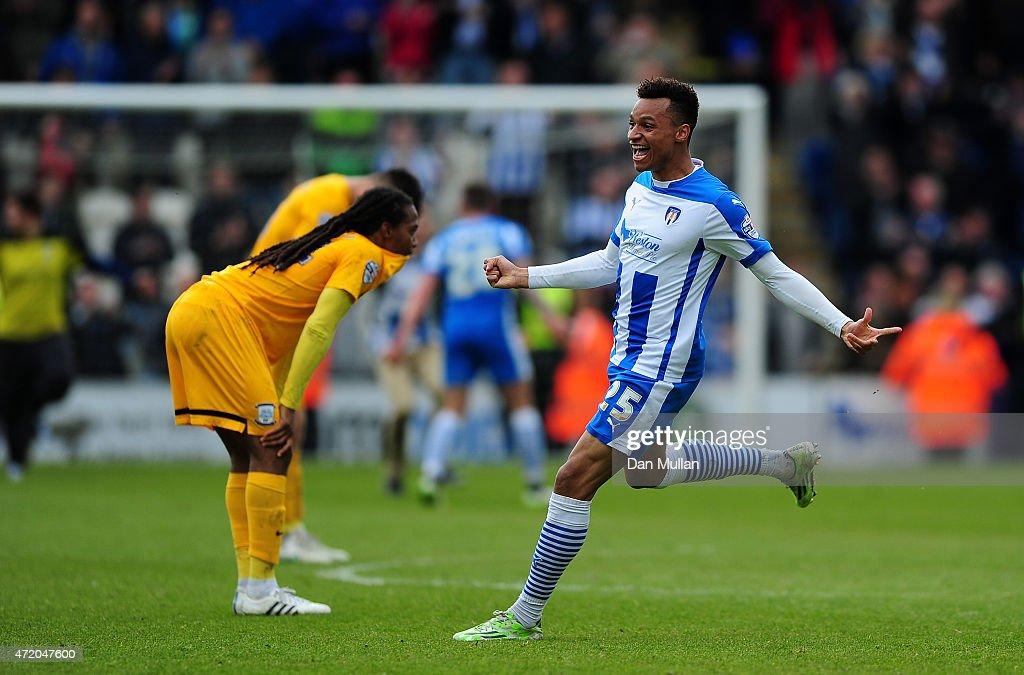 Colchester United v Preston North End - Sky Bet League One : News Photo