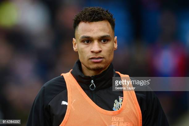 Jacob Murphy of Newcastle United walks outside during the Premier League match between Crystal Palace and Newcastle United at Selhurst Park on...