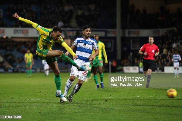 Jacob Murphy of West Bromwich Albion scores a goal to make it 12 during the Sky Bet Championship match between Queens Park Rangers and West Bromwich...