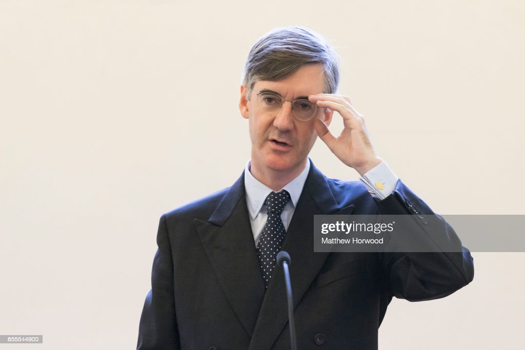 Jacob Rees-Mogg Gives a Talk in Cardiff- 'Faith In The Future'