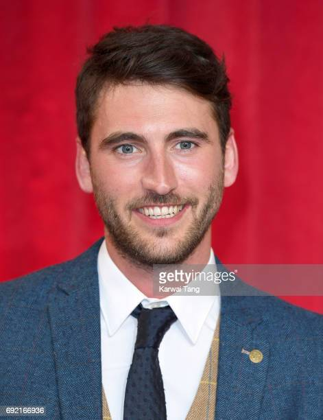 Jacob Roberts attends the British Soap Awards at The Lowry Theatre on June 3 2017 in Manchester England