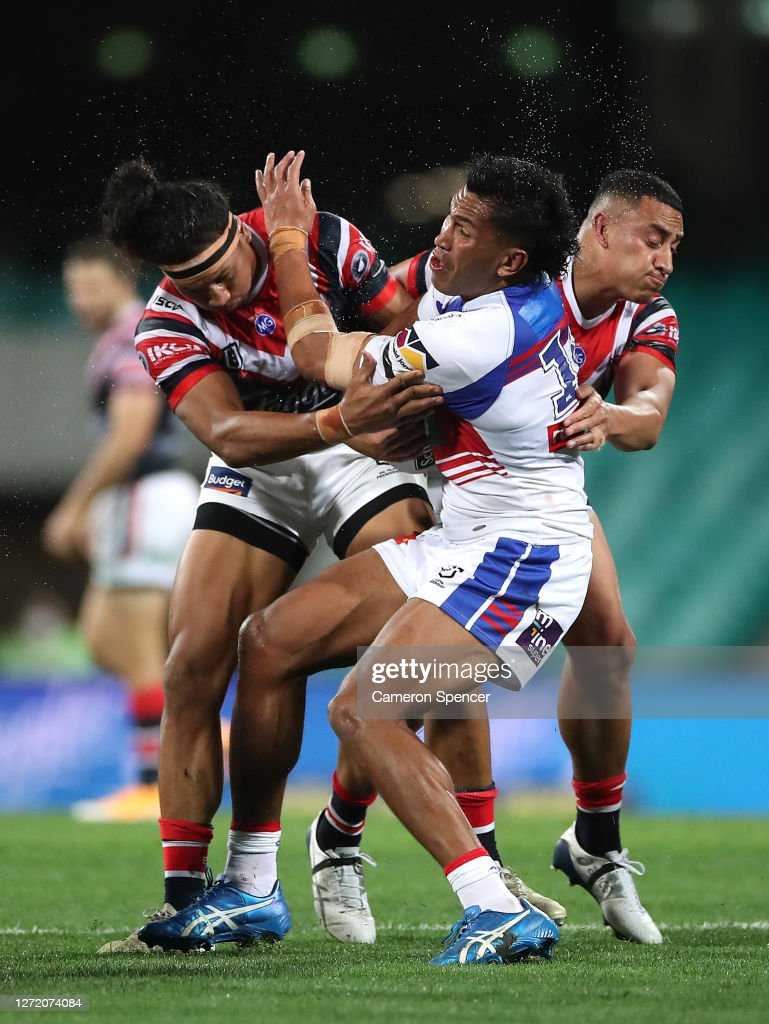 NRL Rd 18 - Roosters v Knights : News Photo