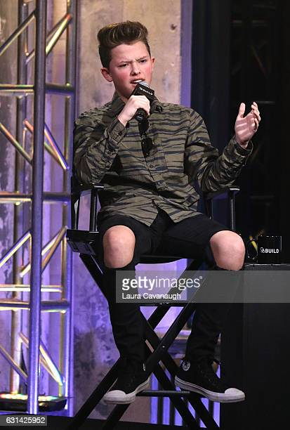 Jacob Sartorius attends Build Presents to discuss 'The Last Text World Tour' at AOL HQ on January 10 2017 in New York City